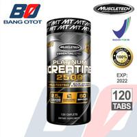 Muscletech Platinum Creatine 2500 120 Caplets 120 Caps 120Cap ORIGINAL