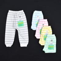 HAYAYO 1 Pcs Celana Panjang Popok Bayi/Baby Salur (3-6M)