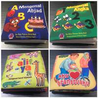 Softbook Balita Seri Buku pertama untuk Anak - Buku Bantal Anak Balita