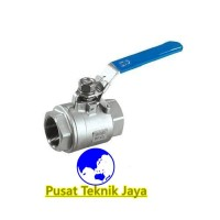 kran air ball valve sankyo 2pc stainless steel 3/4(inch)