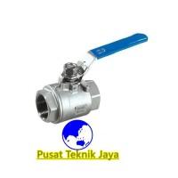 "kran air ball valve sankyo 2pc stainless steel 3/4""(inch)"