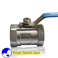 "kran air ball valve stainless steel 316 sankyo 1/4""(inch)"