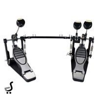 Double Pedal Drum Kick Bass Besi Lengkap TDAS-202