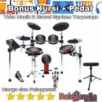 Alesis Crimson 2 II Mesh Kit Drum Electric Elektrik Alesis Ori Garansi