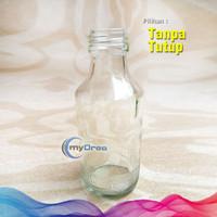 Botol Kaca Bening Susu ASI UC 1000 150ml Termurah Sudah Disterilkan - Tanpa Tutup