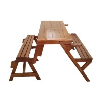 Kursi & Meja Lipat Bangku Kayu Jati Untuk Kafe / Resto / Cafe Outdoor