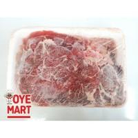 BEEF SLICE 1MM 500GR/KNUCKLE BEEF DAGING SAPI IRIS TANPA LEMAK