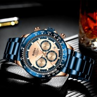 jam tangan BIDEN pria luxury casual bisnis style waterproof jam