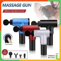 Alat Pijat Getar Elektrik Portable Wireless Muscle Fascial Massage Gun
