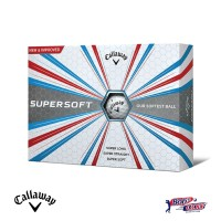 Golf ball Bola golf Callaway Supersoft - 2017 White