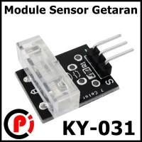 Module Sensor Saklar Getar Vibration Switch Rock Ball Getaran KY 031