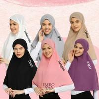 Emikoawa Bergo Vol.1 Hijab Jilbab Instan Khimar Tali Maryam Original