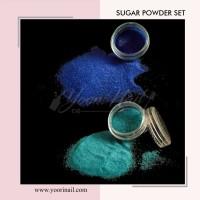 12pcs sugar powder set nail art bubuk sugar nailart glitter