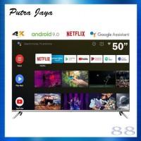 Changhong Framless Android 9.0 4K UHD Smart TV 50Inch LED TV-U50H7