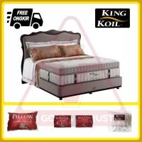 King Koil Masterpiece 200 x 200 200x200 Full Set Fullset Spring Bed