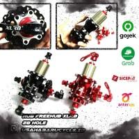 Hub Freehub XLR8 28H Disc Brake Quick Release Jangkrik!