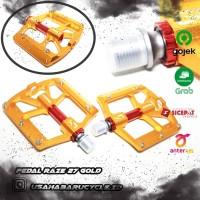 Pedal Raze 27 Gold Alloy & Bearing
