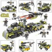 Lego Army and Military Truck 296 pcs 6 in 1