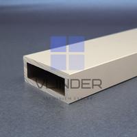 Hollow Aluminium 50 mm x 20 mm, t. 4.0 mm