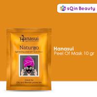 (20 Sachet) Hanasui Naturgo Mask 10gr / Masker Wajah / Masker Jerawat