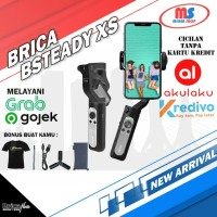 Brica Bsteady XS - 3 Axis Gimbal Stabillizer HP - Black - Free Kaos