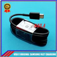 Kabel Data Samsung Galaxy A20 A30 ORIGINAL 100% Fast Charging Type C - Putih