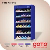 Goto Kasa Rak Sepatu Kain Portable Susun Shoes Rack Lemari Serbaguna