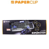 KEYBOARD REXUS VR2 BLACK GAMING