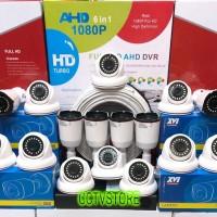 PAKET CCTV 16 CHANNEL 16 KAMERA FULL HD 1080P 5MP KOMPLIT