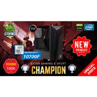 Paket PC Enter Gaming E-Sports CHAMPION INTEL 10700 X Nvidia Graphic