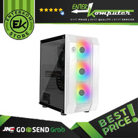 Casing CUBE GAMING FRINS WHITE VERSION - ATX - TEMPERED / Casing PC