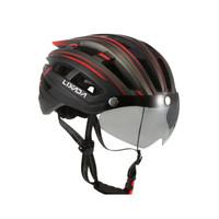 Helm Sepeda Road Bike Lixada Magnetic lens MTB SELI