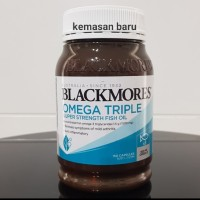 Blackmores odourless omega triple omega 3 super strength fish oil