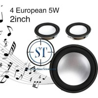 "Speaker Mini 2"" 5W Full Range Audio Speaker Replacement 4 Ohm 50mm"