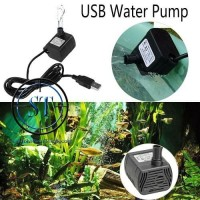 Submersible Water Pump Pompa Air Mini USB Dc 3.5-9V Micro Aquarium