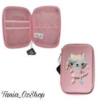 Tempat Pensil Lucu | Pencil Case Cotton On Pink Kitty Original