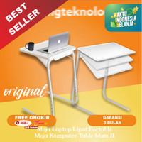 Meja Lipat Portable | Meja Lesehan | Meja Laptop Serbaguna Aluminium