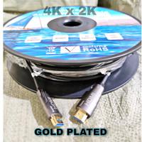 SKU-1064 KABEL HDMI 50M V.2.0 ULTRA HD 4K / ACTIVE HDMI OPTICAL CABLE
