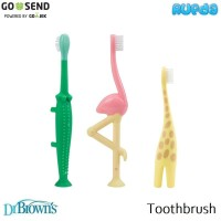 Dr Brown's Infant and Toddler Toothbrush Sikat Gigi Bayi Dan Anak