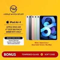 Apple iPad Air 4 / 4th Gen 2020 10.9 Inch 64gb Wifi Only BNIB - Space Grey
