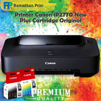 Printer Canon Pixma IP2770 new + Cartridge compatible PG 810 CL 811
