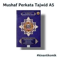Mushaf Perkata Tajwid A5 / Al Quran Per Kata Tajwid A5
