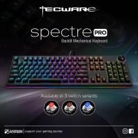 Tecware Spectre Pro RGB - Mechanical Gaming Keyboard Red Blue Brown