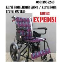 Kursi Roda Arjuna Avico / Kursi Roda Travel (871LB)