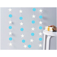Star mix Round Party Garland 4 meter