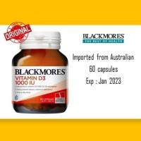 Blackmores Vitamin D3 - 1000IU, isi 60 Capsules