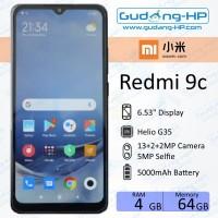 Xiaomi Redmi 9c 4/64 GB Garansi Resmi