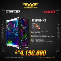 Armaggeddon PC Gaming INSPIRE-R3 AMD RYZEN 3