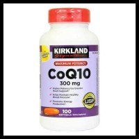 KIRKLAND SIGNATURE   CoQ10 300mg 100 capsules - import BARU