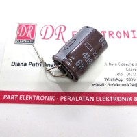 Elco Capasitor Kapasitor 68uF 68mikro 400v 400 volt 105 CE